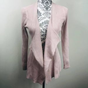 NWT New York & Co blush and silver cardigan